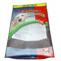 China Standup Resealable Dog Food Packaging Bags With Clear Window In Front wholesale