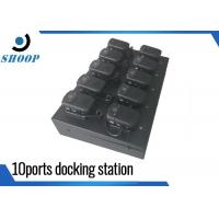 China Ten Ports Security Guard Body Docking Station For Camera Police Use wholesale