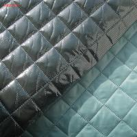 F6027 polyester termo quilting fabric with omni-heat fanction