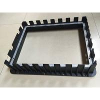 China Front Bezel Housing Black Painting Die Casting Parts Customized Aluminum Diecasting wholesale