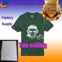 China dark color heat transfer paper t-shirt transfer paper a4 size wholesale