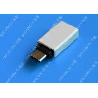China Type C Male to USB 3.0 A Female Apple Micro USB White With Nickel Plated Connector on sale