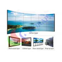 China 46 Inch 3 X 3 Ultra Slim Bezel Monitor , High Brightness Lg Video Wall Display on sale