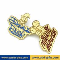 China ADDGIFTS cartoon lapelpin custom gold lapel pins soft enamel pins wholesale
