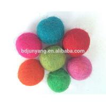 Wholesale wool felt ball coaster decoration ball felt ball garland