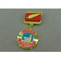 China Zinc Alloy Die Casting Custom Awards Medals , Military Medals With Hard Enamel wholesale