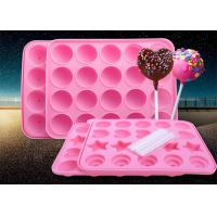 China 20 Holes Durable Food Grade Silicone Candy Molds Easy To Collect wholesale