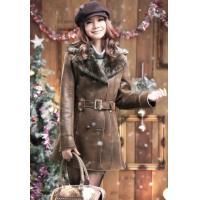 China Plus Size Winter Fashion Leather Coats For Women on sale