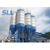 China Waterproof Steel Cement Silo , Batching Plant Silo Convenient Installation on sale