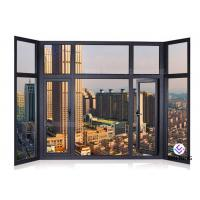 China Soundproof Glass Profile Aluminium Window And Door Windows And Doors Standard Size wholesale