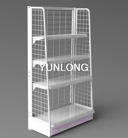 Wall Mounted Retail Fixtures : wall mounted metal shelving images.