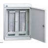 China Caja de la fibra del soporte de la pared para el módulo del LSA, gabinete de distribución de cable del bloqueo de teclas de 100 - 1600 pares wholesale