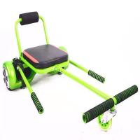 China Green Adjustable Seat Hoverboard Go Kart With Max Loading 150KG , Elastic Belt For Fixation wholesale