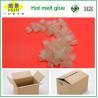China Gránulo adhesivo del derretimiento caliente transparente, pelotillas calientes del pegamento para empaquetar wholesale