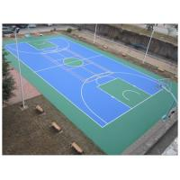 China Easy Using Color Customized Tennis Court Surface For Multi-functional Silicone PU Materials wholesale