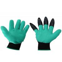 China Cut Resistant Garden Work Gloves Hand Care Nails With Digging Planting Claws wholesale