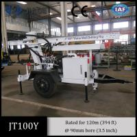Jt100y All-Hydraulic Portable Small Drilling Rig for small shallow water well drilling