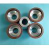 China Small Diameter Resin Bonded Diamond Grinding Wheels Bowl Shape 50*20*20*5*5 wholesale