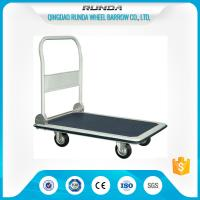 China Foldable Platform Hand Truck PH300 300kgs Load Capacity Blue Color 4 Wheels wholesale