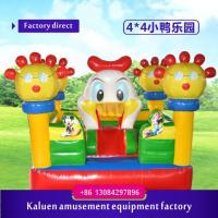 Inflatable Fun Bouncy House, kids bouncy castle,seven meters pvc inflatable castle