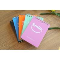 China Wholesale Custom Small Colorful Heart Shape Spiral Notebook/note pad wholesale