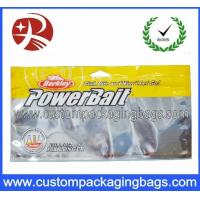 China Laminated Aluminum Foil Reusable Ziplock Bags Fish Feed Packing With Window wholesale
