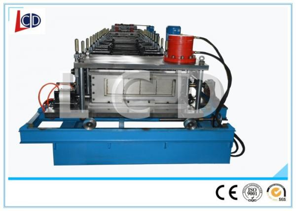 Quality Perforated Cable Tray Roll Forming Machine Sizes Adjustable 6m / Min Working Speed for sale