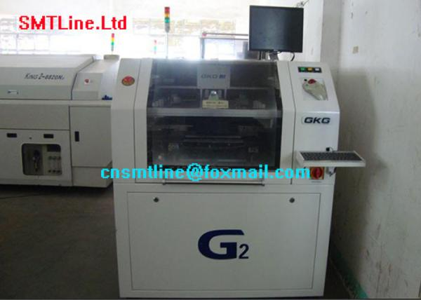 Quality Led Screen SMT Stencil Printer 110V / 220V High Precision Compact Structure for sale