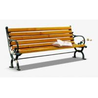 China Anti Corrosion Bamboo Park Bench Easy Cleaning Antique Style With Long Using Life wholesale