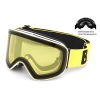 China Quick Change Lens Ski Snowboard Goggles Double - Layer With Detachable Strap wholesale