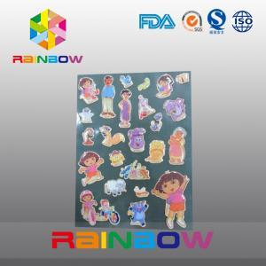 China Colorful Vivid Irregular Economic Recyclable Custom Paper Labels Bottle / Plastic Bag wholesale
