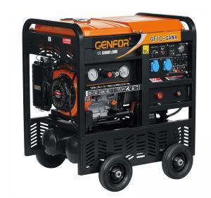 China 24L 200A Compressor Welder Generator , Genset Welder Generator 5.0KW Rated Power wholesale