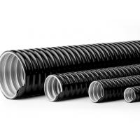 China 4 Inch PVC Coated Flexible Electrical Conduit Pipe Customizable Printing wholesale