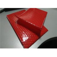 """China Apparel Packing Red Bubble Mailer Bag 12.5"""" X 19"""" #6 Padded Poly Mailers Waterproof wholesale"""