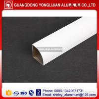 China Aluminum extrusion handle profile for window and door white color wholesale