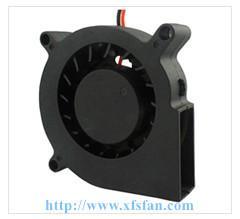 60*60*15mm 5V/12V DC Blower DC Black Plastic Brushless Cooling Fan Blower 6015