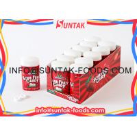 Sour Fruit Candy in Plastic Box Sour Strawberry Flavor Private Label Available