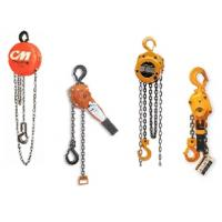 China 0.5-20 ton Manucal Chain Hoist With Trolley wholesale