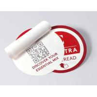 China Round Shape Multi Layer Labels , Custom Design Peel And Reseal Labels on sale