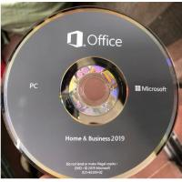 China Microsoft Office 2019 Ms Office Latest Version Home And Business HB Retail Box For Windows wholesale
