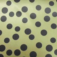 China 100% Poly Print Fabric with Dots for Garment Lining Eye-catching, 150cm Width wholesale