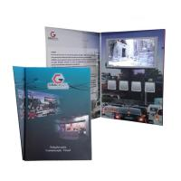 China Magnetic Switch / Touch screen LCD Video Gift Card with 256MB - 8G Memory wholesale