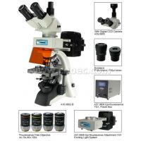 Buy cheap Microscope de Trinocular de fluorescence, 40X - microscopes de composé de 1600X from wholesalers