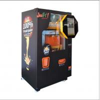 China Shopping Mall Commercial Orange Juice Vending Machine Coins And Notes Acceptors on sale