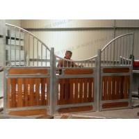 China Plank For Pipe Horse Stable Partitions Outdoor Horse Stall Stables Door 4m on sale