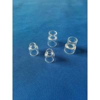 China custom Ground/Clear/Color quartz glass joint ground joint tapered adapter wholesale