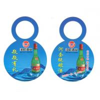 China Recycled Custom Garment Tags Bottleneck Paper Hangtags Bright Color Long Shelf Life wholesale