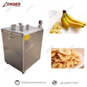 China Banana Chips Cutting Machine|Banana Slicer Machine|Plantain Chips Slicer Machine|Automatic Banana Slicing Machine wholesale