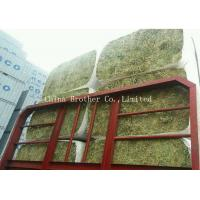 China PP / HDPE Woven Hay Bale Sleeves Fabric Gravure Printing For Building wholesale