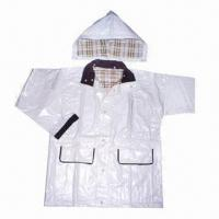 China Outdoor Rain jacket, Various Colors and Designs are Available wholesale